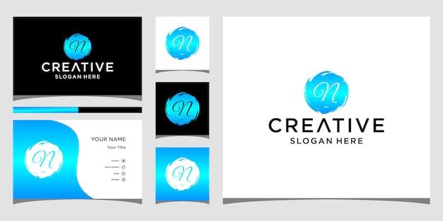 Création de logo de cercle n