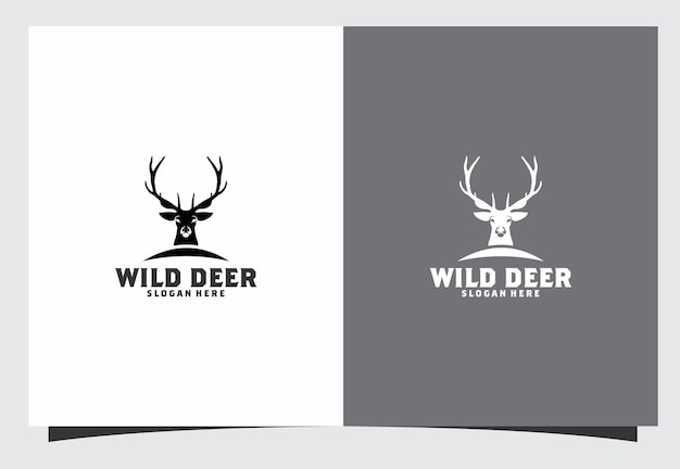 Création de logo de cerf