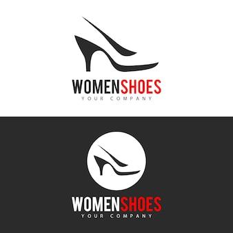 Création de logo de chaussures pour femmes