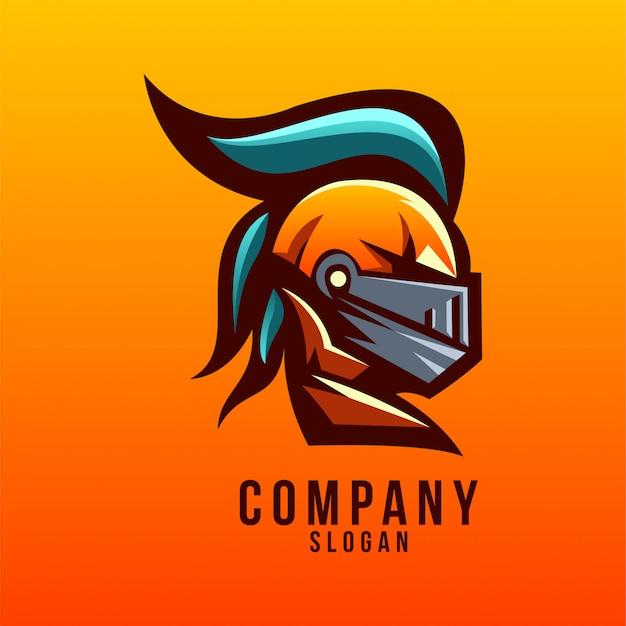 Création de logo chevalier