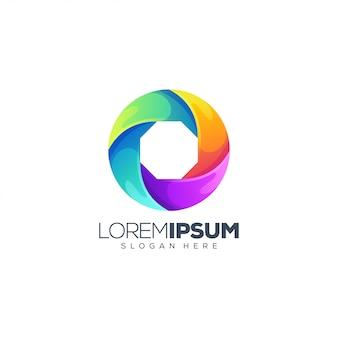 Création de logo coloré