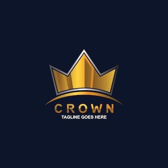 Création de logo de couronne