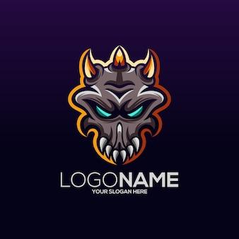 Création de logo de crâne