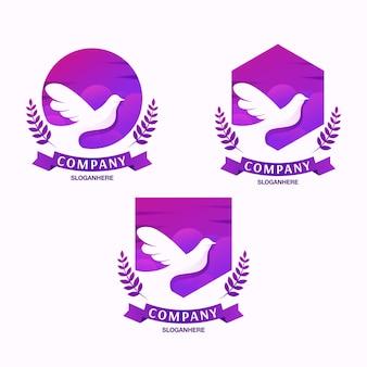 Création de logo dove
