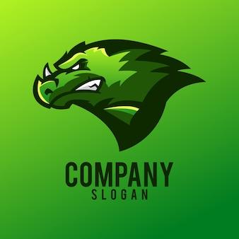 Création de logo dragon