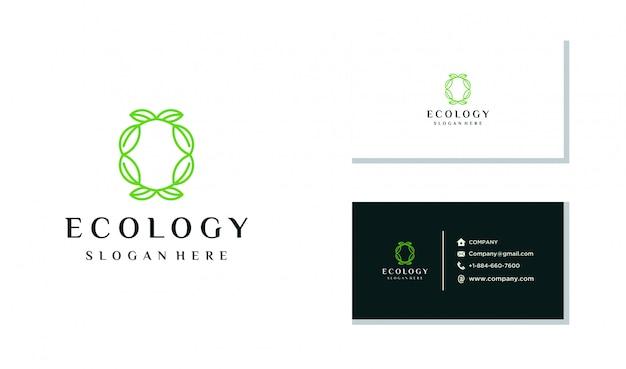 Création de logo d'écologie unique