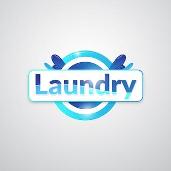 Création de logo d'entreprise de blanchisserie