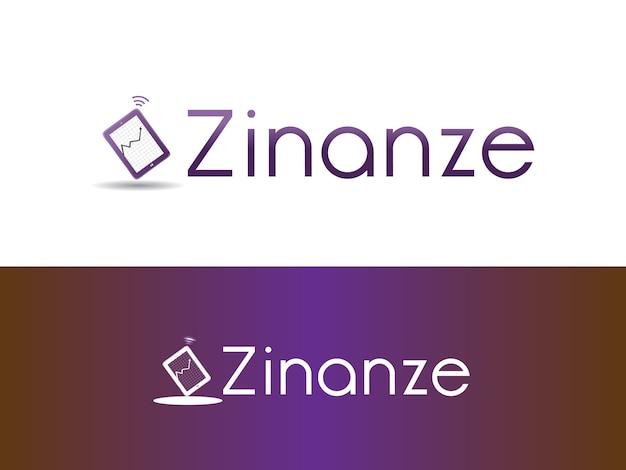 Création de logo d'entreprise de gestion de placements financiers