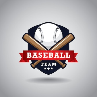 Création de logo d'équipe de baseball