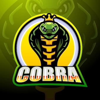 Création de logo esport mascotte cobra
