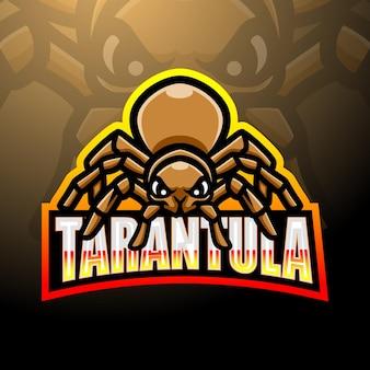 Création de logo esport mascotte tarentule