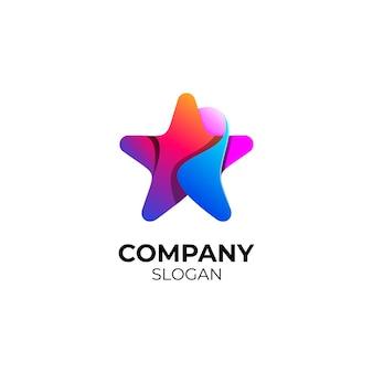 Création de logo d'étoile
