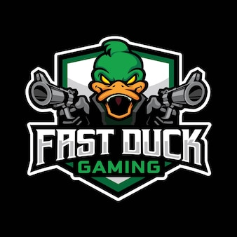 Création de logo fast duck gaming