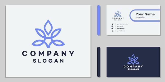 Création de logo de feuille de cannabis pour les entreprises et le médical