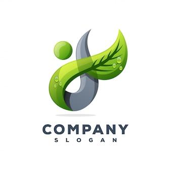 Création de logo feuille