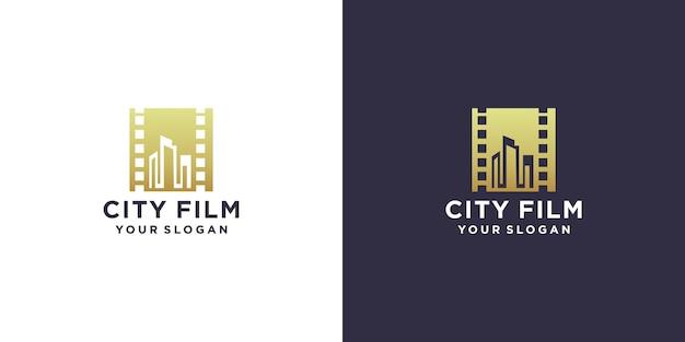 Création de logo de film de ville