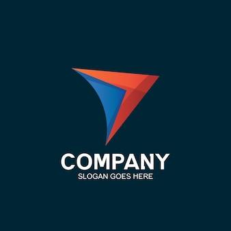 Création de logo de flèche