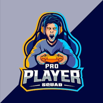 Création de logo gamer esport