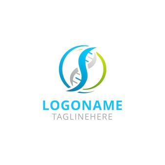 Création de logo gen dna nature circle