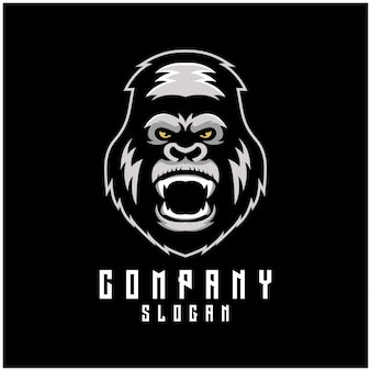 Création de logo de gorille