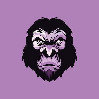 Création de logo gorille