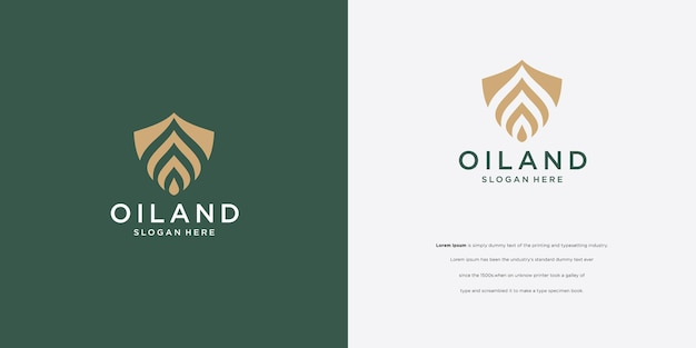 Création de logo de gouttelette et création de logo de logo de fleur