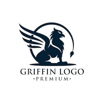 Création de logo héraldique griffin