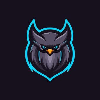 Création de logo de hibou