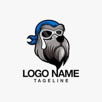 Création de logo hound