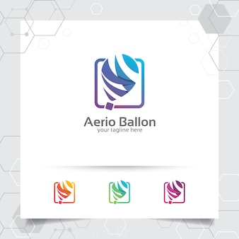 Création de logo idée intelligente vector avec concept de symbole d'icône bulp et lampe.
