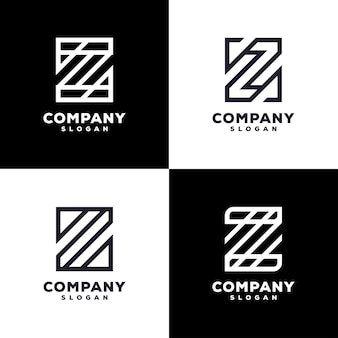 Création de logo de jeu de lettre z