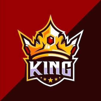 Création de logo king crown esport