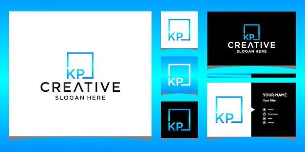 Création de logo kp