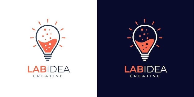 Création de logo lab and idea