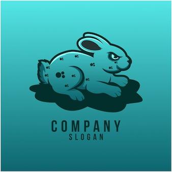 Création de logo de lapin