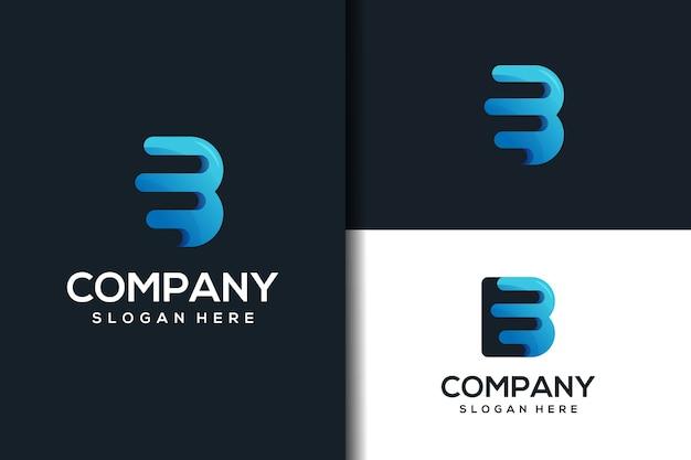 Création de logo lettre b