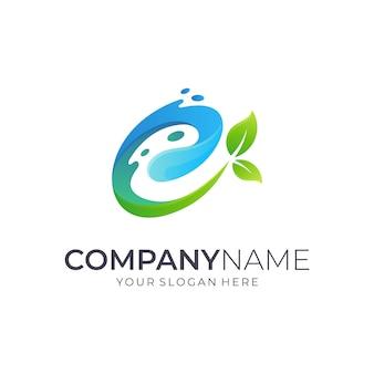 Création de logo lettre e initiale