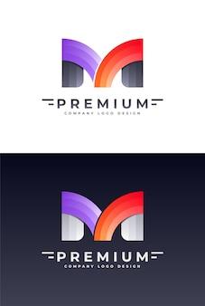Création de logo de lettre m