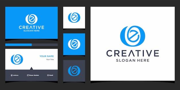 Création de logo lettre oe