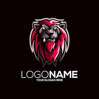 Création de logo de lion