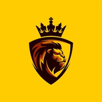 Création de logo lion