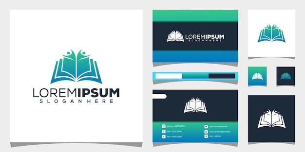 Création de logo de livre