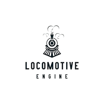 Création de logo de locomotive ou de train