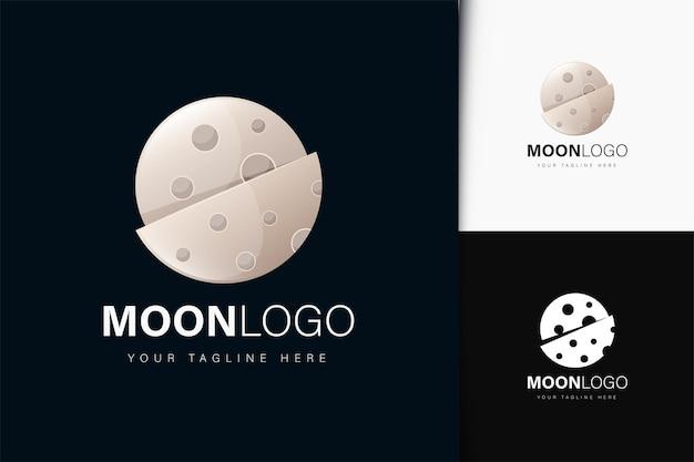 Création de logo lune avec dégradé
