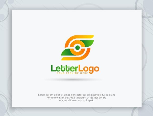 Création de logo de magasin de fruits et logo de lettre