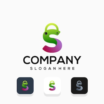 Création de logo de magasin de magasinage moderne