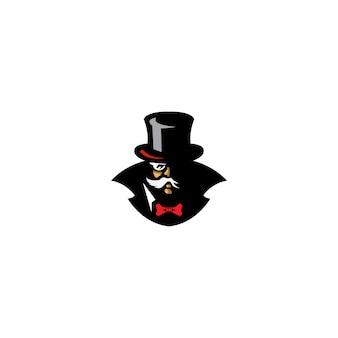 Création de logo magicien
