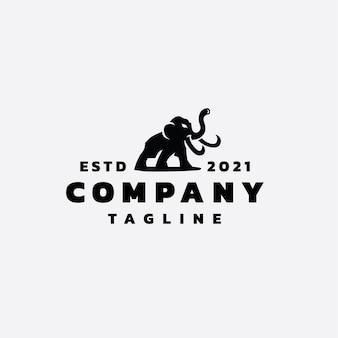 Création de logo de mammouth