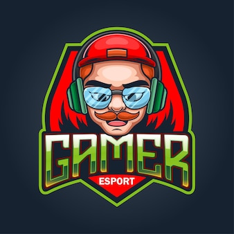 Création de logo de mascotte esport gamers