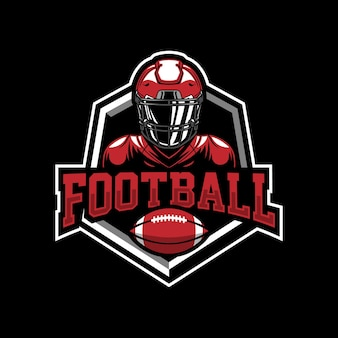 Création de logo de mascotte de football